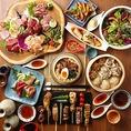 宴会などでも人気!大満足のコース料理、「くる兵衛自慢の逸品コース」は全9品2h飲み放題付き3000円!