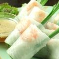 料理メニュー写真ベトナム風生春巻き(1本)