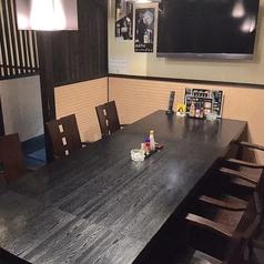テレビ付きテーブル席(5名から8名様)