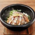 料理メニュー写真直送鮮魚の石焼あつめし