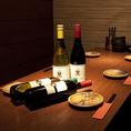 お洒落な雰囲気のテーブル席のご利用はいかがですか?ご家族でのお食事・飲み会にもご利用いただいております。