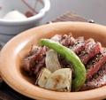 料理メニュー写真和牛陶板焼き(90g)