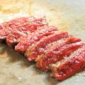 料理メニュー写真和牛サーロイン鉄板焼