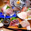 料理メニュー写真旬の地魚刺身大漁盛り