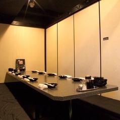 何名様でも必ず個室に御案内出来るのは全室完全個室だから!落ち着いた和の空間で自慢の逸品の数々をご賞味下さい♪