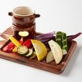 料理メニュー写真エロうま野菜のバーニャカウダー
