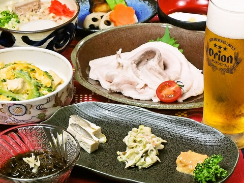 本場沖縄の味と、他では味わえない古酒泡盛をぜひお試し下さい!