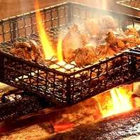 備長炭で一気に焼き上げる≪じとっこ焼き≫は絶品!
