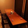 プライベートな宴会や仲間でワイワイ楽しみたいときは個室がおすすめ!