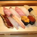 料理メニュー写真ぜいたく寿司10貫