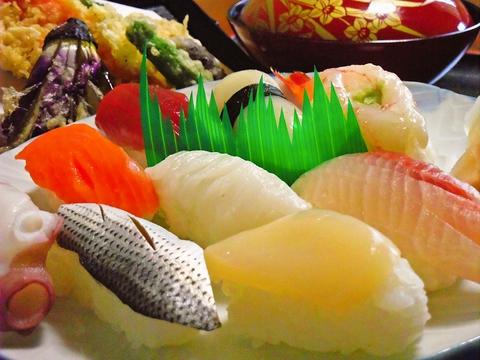 寿司 天婦羅 芝楽