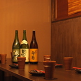 【オシャレな内装】日本酒をグビッと飲みながら宴会するのもいいですね。