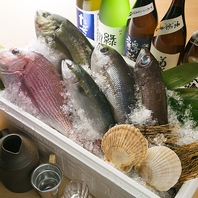 新鮮な食材の数々は日本各地から厳選しております♪