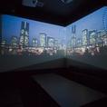 Blu-rayプレーヤー無料貸出♪大人気のデュアルプロジェクタールームで迫力の映像視聴を楽しめます!