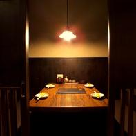 忘年会・新年会も個室、半個室でごゆっくり利用出来ます