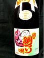 関の鯛つり(500円)※税抜です。グラス提供価格。珍しい焼酎をご用意しています。