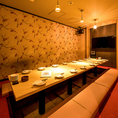 団体様向けのテーブル個室やお座敷個室もご用意しております!大型宴会・飲み会・女子会・特別な日のご宴会にもピッタリです◎お得なクーポンも多数ご用意!