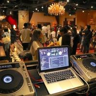 ■パーティーを盛り上げる充実の音響機材を完備!