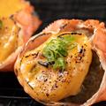 料理メニュー写真蟹の甲羅味噌焼き