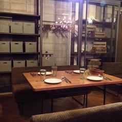 二次会などにも利用しやすいテーブル席も多数ございます!