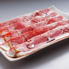 料理メニュー写真すき焼カルビ/すき焼上カルビ/すき焼ドルチェポルコ