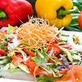 料理メニュー写真木の実とカラフル野菜のサラダ