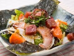 海鮮サラダ~韓国のりつき~