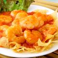 料理メニュー写真小海老のマヨネーズ和え、小海老とカシューナッツの炒め
