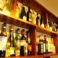 お酒の種類も豊富☆女性に人気のカクテルもお作り致します。