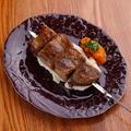料理メニュー写真スペイン産 イベリコ豚(ロース)串焼 1本