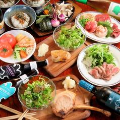 肉と野菜 けいとくのコース写真