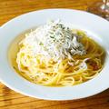 料理メニュー写真名物!静岡産釜揚げしらすのペペロンチーノ