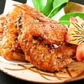 料理メニュー写真奥三河鶏の冷手羽先