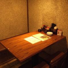 サクッと飲み会に嬉しいテーブル席