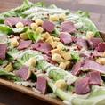 前菜も馬肉づくし♪お酒がすすむおつまみサラダをぜひご賞味ください!