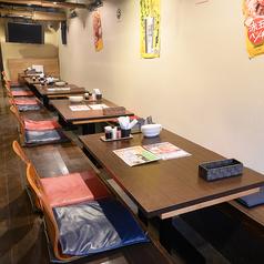 テーブル席◇4名様×6席