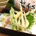 料理メニュー写真旬菜天ぷら
