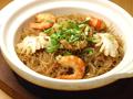 料理メニュー写真広東風海鮮土鍋