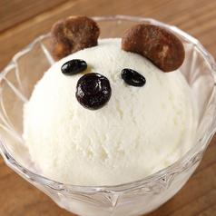料理メニュー写真白熊アイス