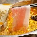 料理メニュー写真5種から選べる2層しゃぶしゃぶ食べ放題