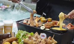 THE ROOFTOP BBQ ビアガーデン なんばパークス店のコース写真