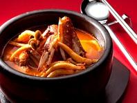 韓国料理も充実♪