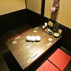富士宮駅徒歩2分の好アクセスで帰りもらくらく!お喋りがはずむ2人個室は席予約もOK!お二人でゆっくりとおくつろぎ頂ける個室はデートに最適☆2名様~50名様までご案内可能です。もちろん女子会にもおすすめの個室です。