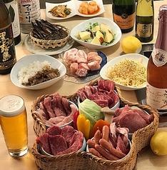 フレンチ焼肉 ビーフマルシェのコース写真