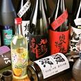 日本酒も充実。オーナーの気まぐれでレア物が入荷する事も!?