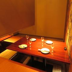 パーテーションで仕切ると半個室になりますよ★接待や食事会にも最適です!!