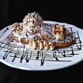 料理メニュー写真チョコバナナフレンチトースト