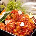 料理メニュー写真【中部 岐阜】 ピリ辛!鶏チャン焼き