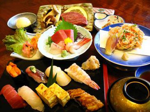 【鮨・料理コース】お料理6品+鮨8貫5400円→4200円