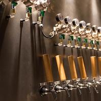 常時12種の樽生クラフトビール専門店♪